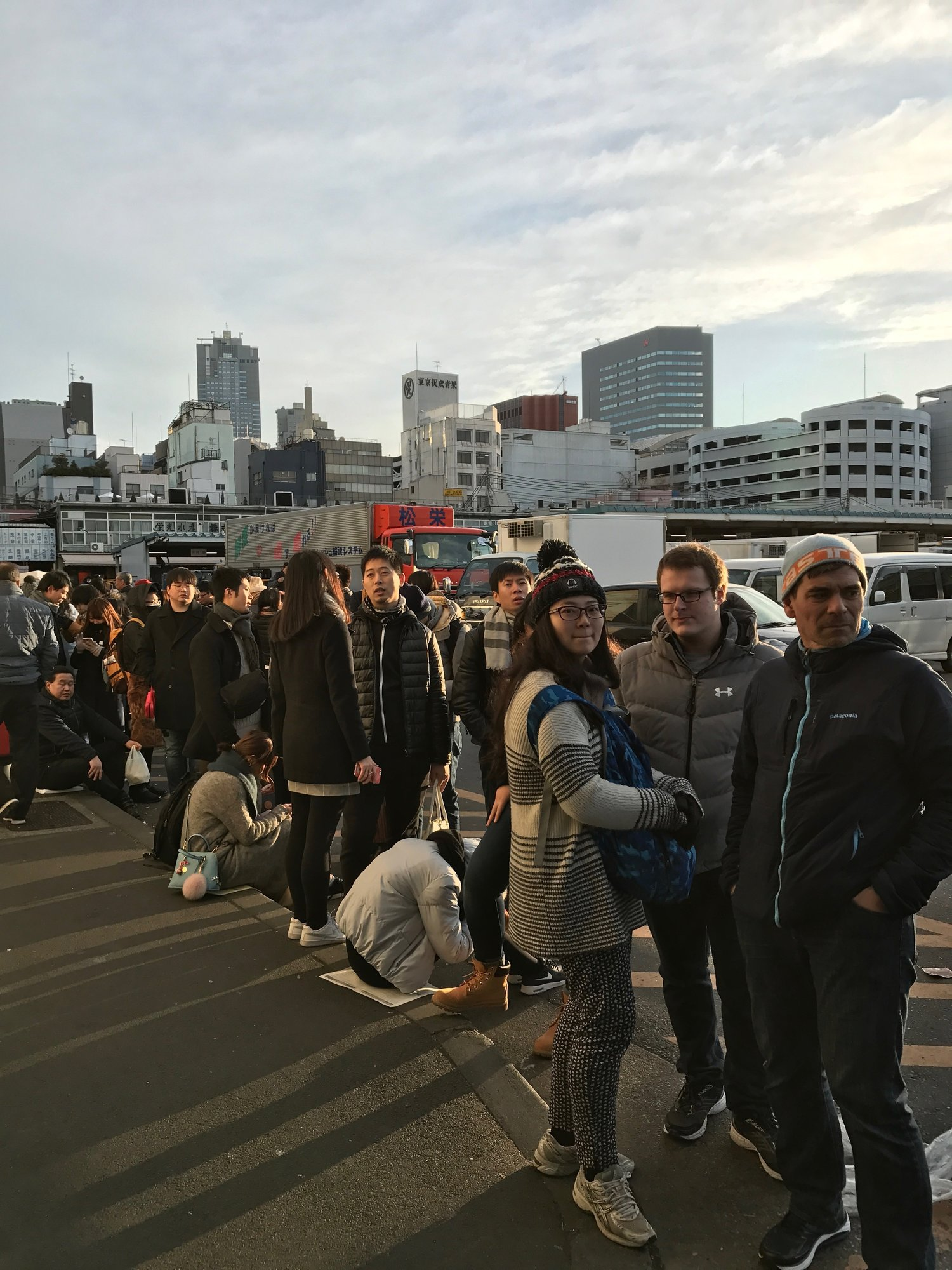 Tsukiji Fish Market and the best sushi we have EVER eaten