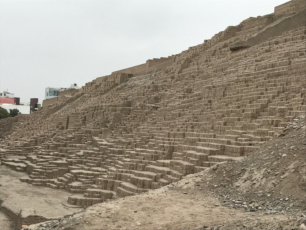 Steps to the 25M high pyramid