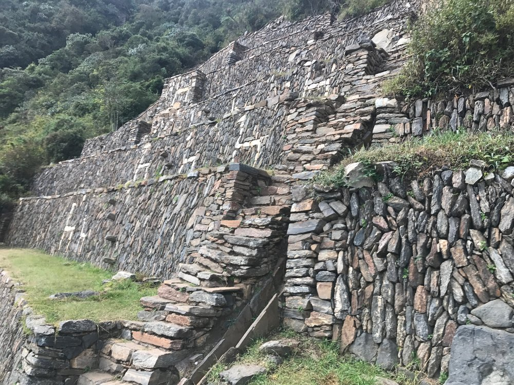 Llama Terraces at Choquequirao