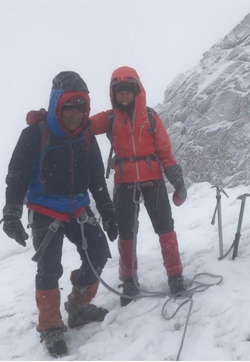 At the summit of Carihuairazo