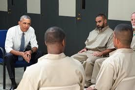 Obama visit federal prison