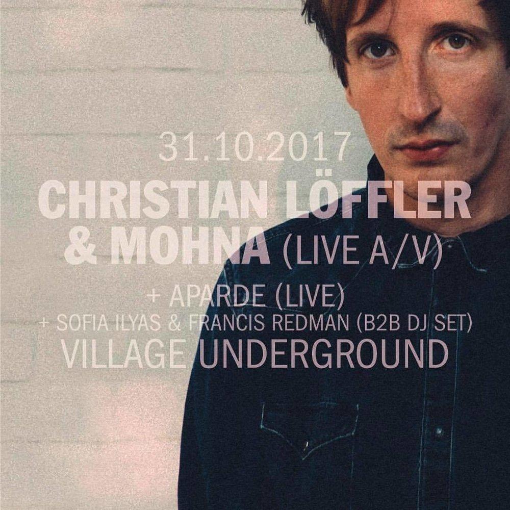 DJ'ing at Village Underground