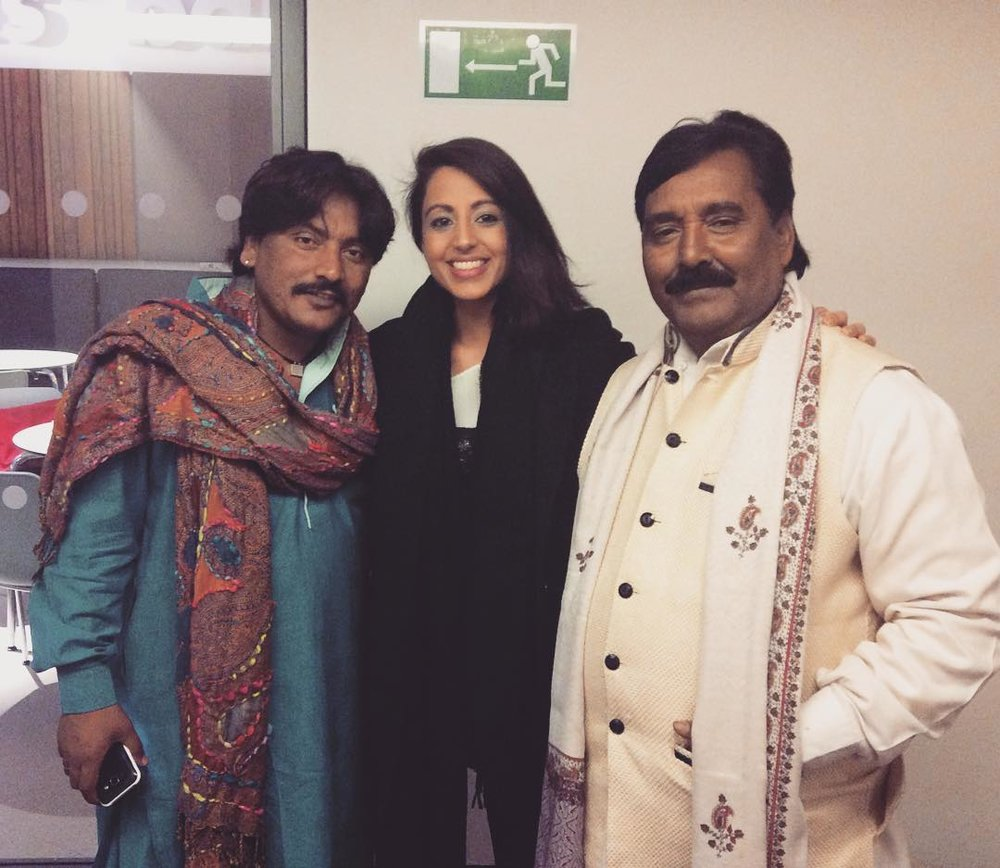With Rajasthan Express Orchestra