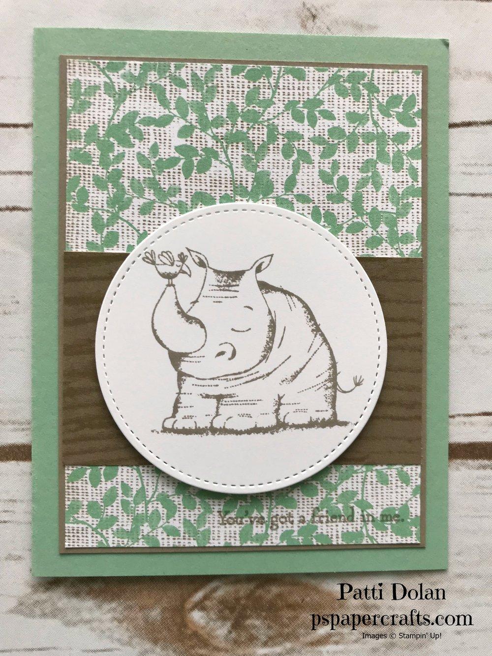 Animal Outing Nature's Poem DSP Rhino.jpg