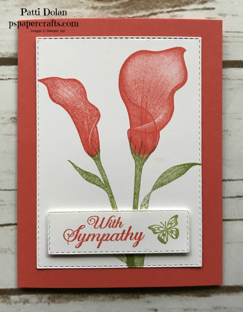 Lasting Lily Sympathy Cards Calypso Coral.jpg