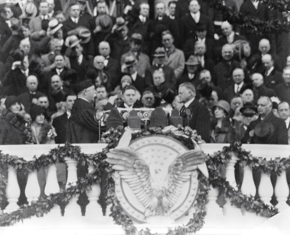 Hoover's Innauguration