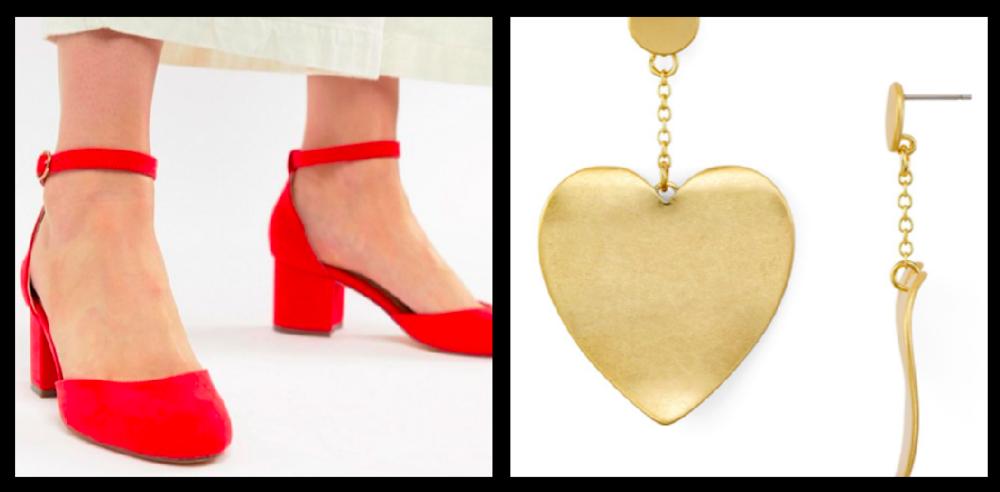 Shoes:  $48  / Earrings:  $48