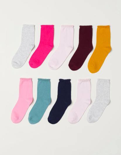 10 Pack Socks