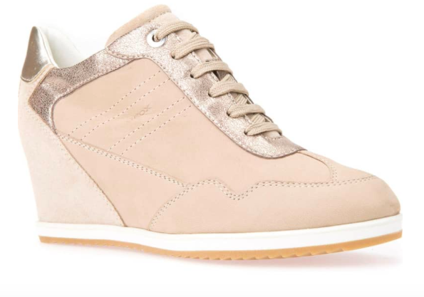 Geo Illusion 34 Wedge Sneaker $129