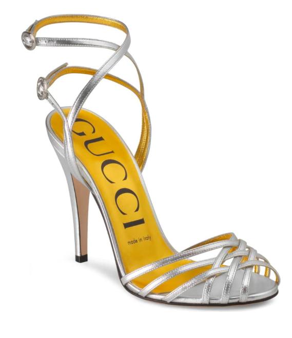 Gucci Draconia Ankle Strap Sandal