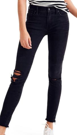 9-Inch High Waist Skinny Jeans