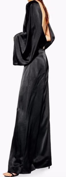 Open Back Jumpsuit by Boutique