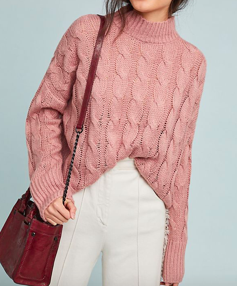 Cable-Knit Pullover