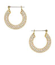 PAVE BABY AMALFI Hoops by Luv AJ
