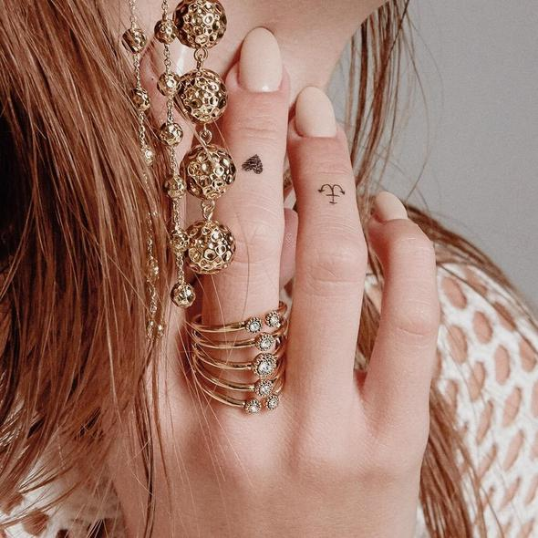 MOROCCAN Stud Statement Ring by Luv AJ