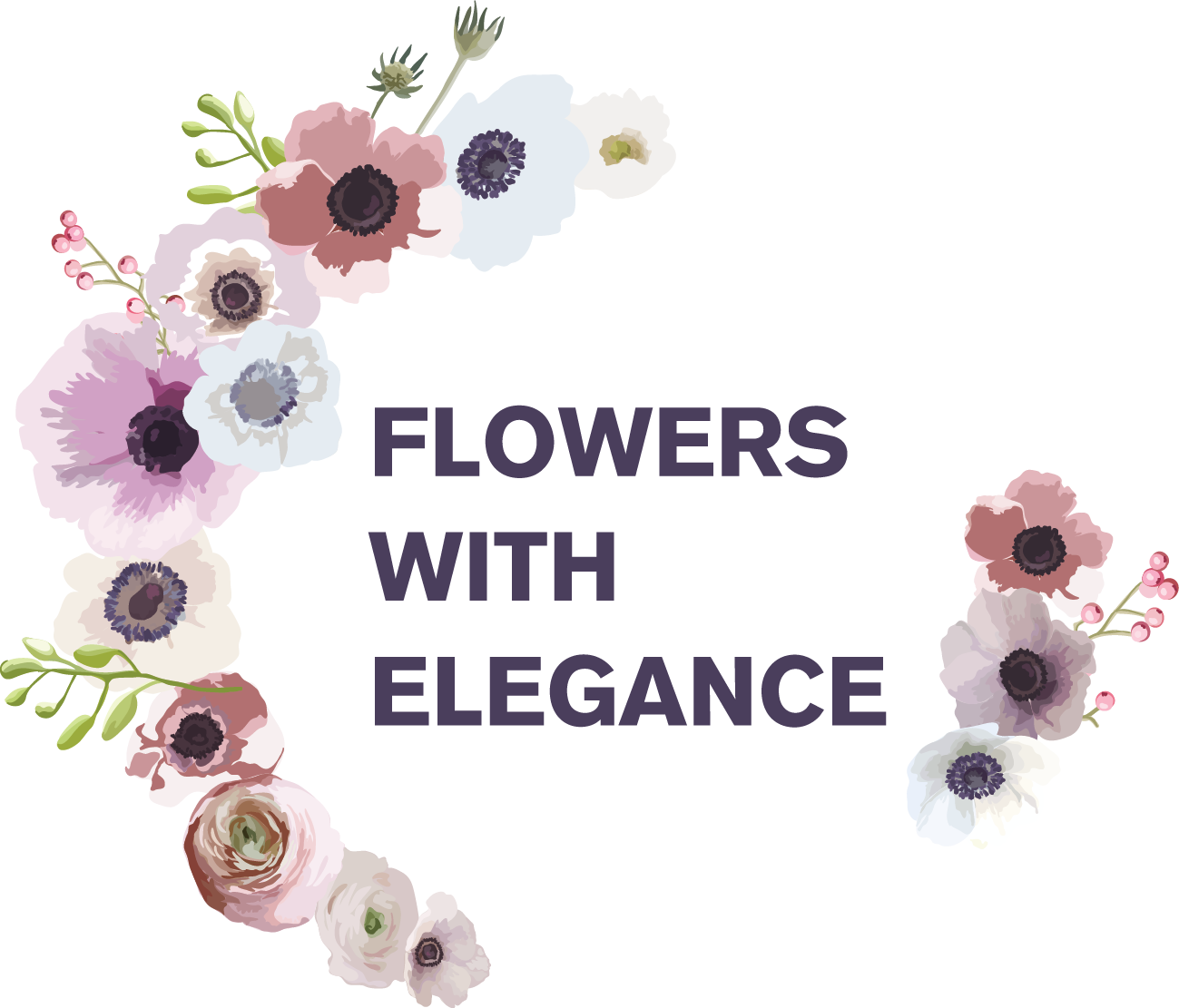Flowers with elegance