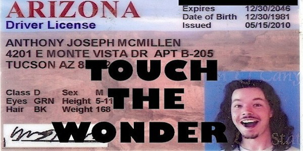 Touch the Wonder I.D. pic