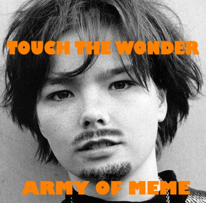 TOUCH WONDER BJORK ARMY peg