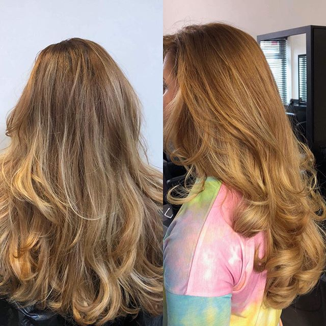 Root and toner top up on this gorgeous balayage today, finished with big bouncy blow out by @aimeejonesuk  #instahair #hairinspo #hairtrends2018 #perfecthair #naturallook #beautylaunchpad #hairdresser #hairinspiration #hairtrend #hairfashion #hairbrained #livedinhair #healthyhair #happyhair #hairstyles #hair #shiny #healthy #balayage #ghd #uk #instagood #instagram #instaday #instadaily #instagramer #photooftheday #beforeandafter #blowdry #voluminous