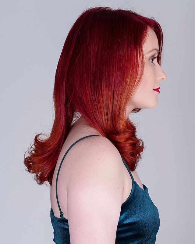 @hairbyjones are LOVING these red and copper tones #haircut #haircolor #hairstyles #copper #redhair #hairdye #hairtrends #hair #hairstylist #localbusiness