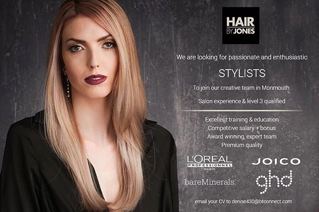 Do you know someone who would be PERFECT for this role? TAG THEM! #jobadvert #job #jobs #advertising #werehiring #wearehiring #stylist #hairdressing #hairstylist #hairdresser #instagood