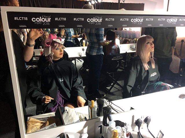 @hairbyjones had a wonderful time today at the @lorealhair Colour Trophy at @cheltenhamraces  #loreal #lorealhair #lorealcolourtrophy #lorealcolourtrophy2018 #lorealcolortrophy #lorealcolour #cheltenhamracecourse #hairdressing #hairstyle #hairbrained #hairbyjones #haircolour #instagood #photooftheday #uk