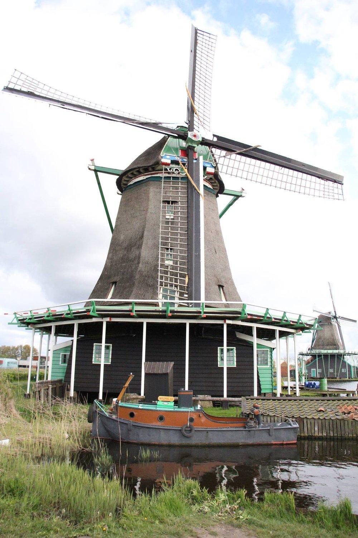 Zaanse Schans - a Windmill Village Netherlands