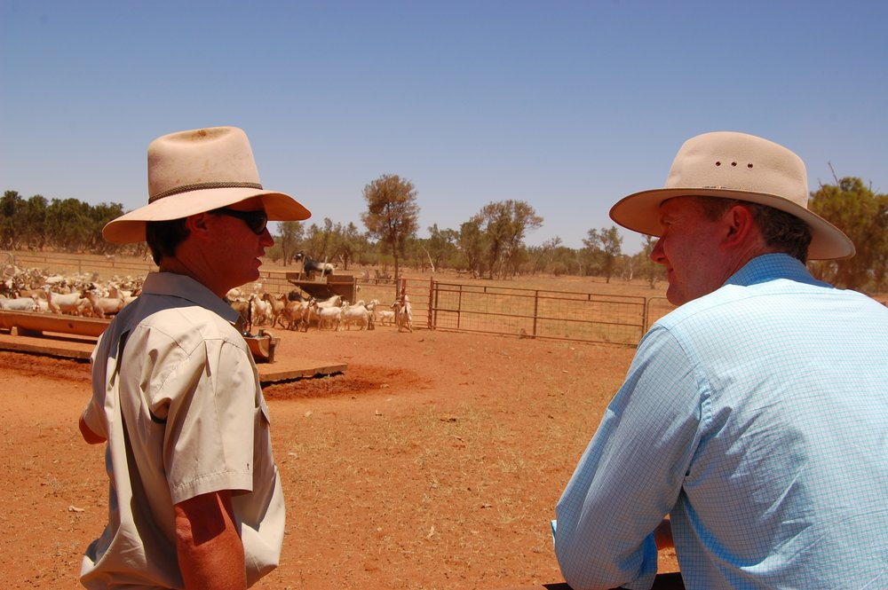 Tony with Lachlan Gall at Langawirra NSW 9 Jan.JPG