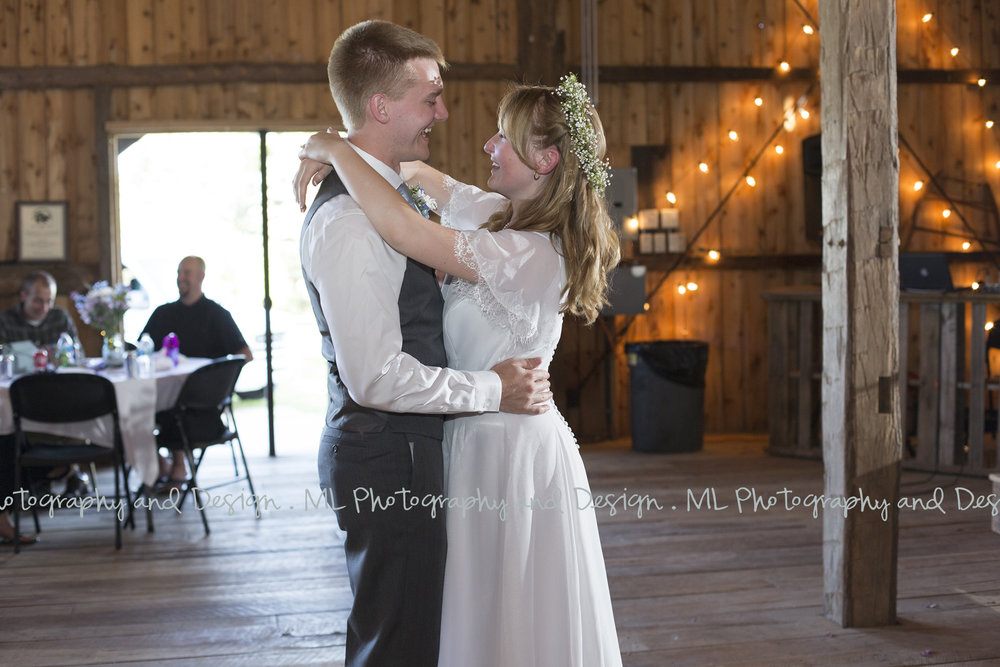 First dance smiles
