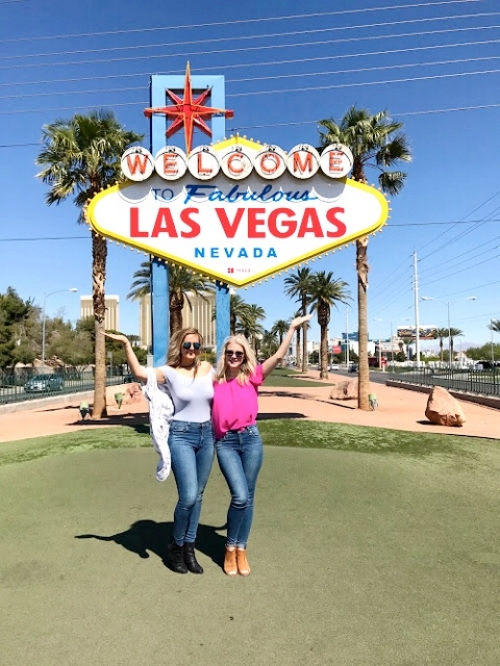 The Las Vegas Sign:  The OG of Sin City insta-ops. We recommend going before 10am to avoid lines and have your pose ready to go!