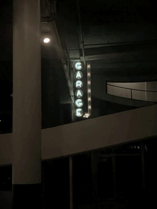 Garage Bar Sign