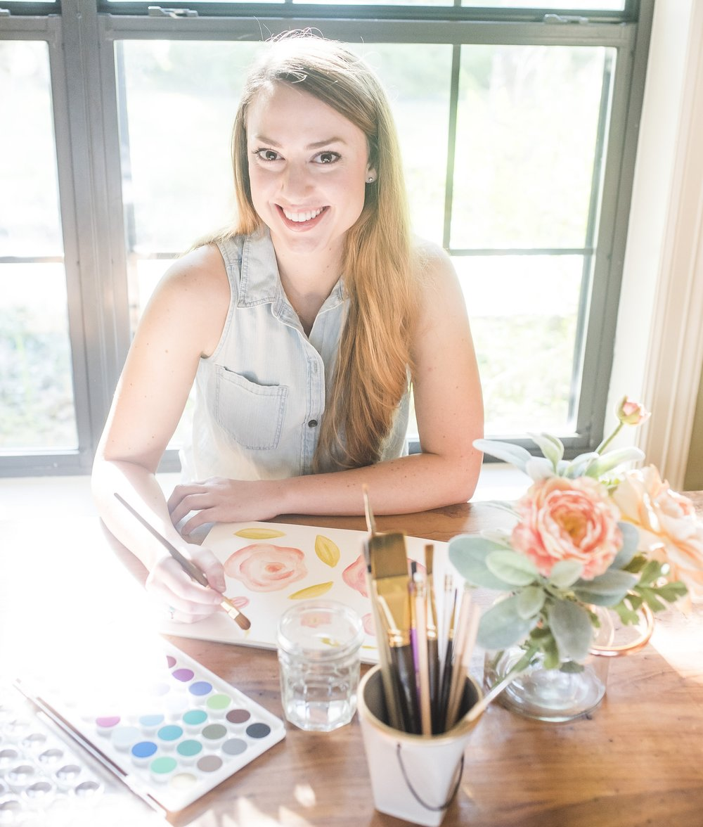 Megan James |    @peachpaperdesign    Peach Paper & Design | Wedding Stationery + Small Business Branding | Watercolor painter. Ice cream enthusiast. Vintage obsessed.