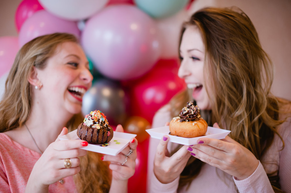 Lori Schneider  |  @thecupcakebar   We bring interactive dessert stations to your event! From cupcakes to doughnuts to caramel apples- we handle your sugar fix from start to finish!