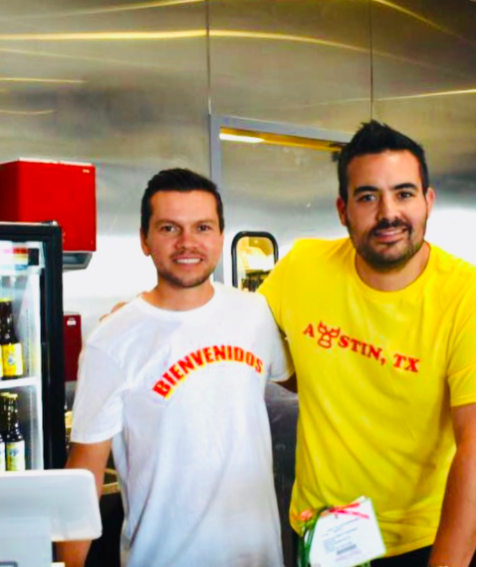 Tony Avila & Axel Beverido |  @onetacoaustin   Co-Owners of One Taco, Authentic Mexican Modern Taquería.  Food truck on West 6th | Brick & Mortars x2