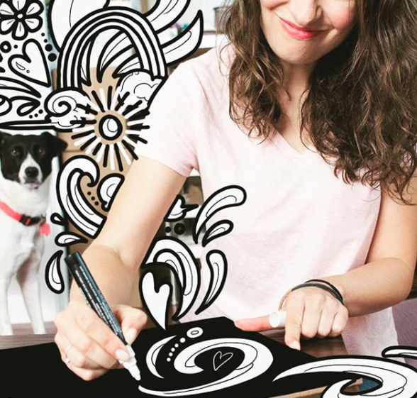 Rebecca Borrelli |   @becca_draws_atx   Home of the Austin Coloring Book, murals, and art classes in Austin, TX.