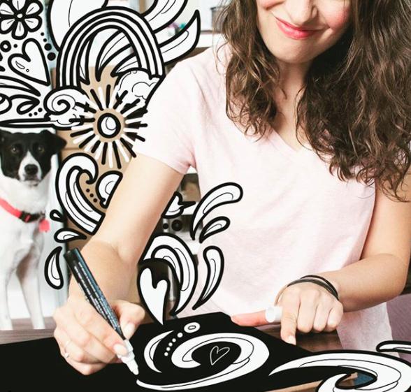 Rebecca Borrelli |   @becca_draws_atx   Home of the Austin Coloring Book, murals, and art classes in Austin, TX.