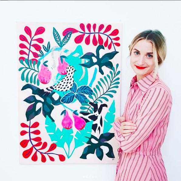 Johanna Stark  |  @johannastark   Pattern loving illustrator from Malmö, Sweden.   Pt. 1 here    Pt. 2 here
