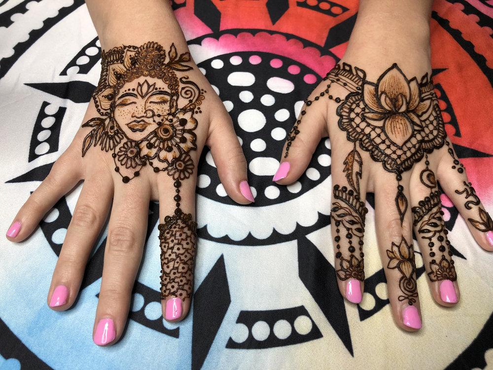 mischelle wade  Traveling henna gal   @moonchildmehndi