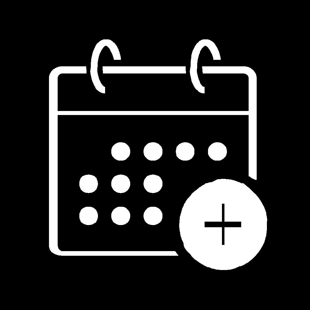 Icon depicting a calendar
