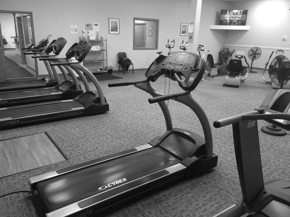 Cardio Treadmills.