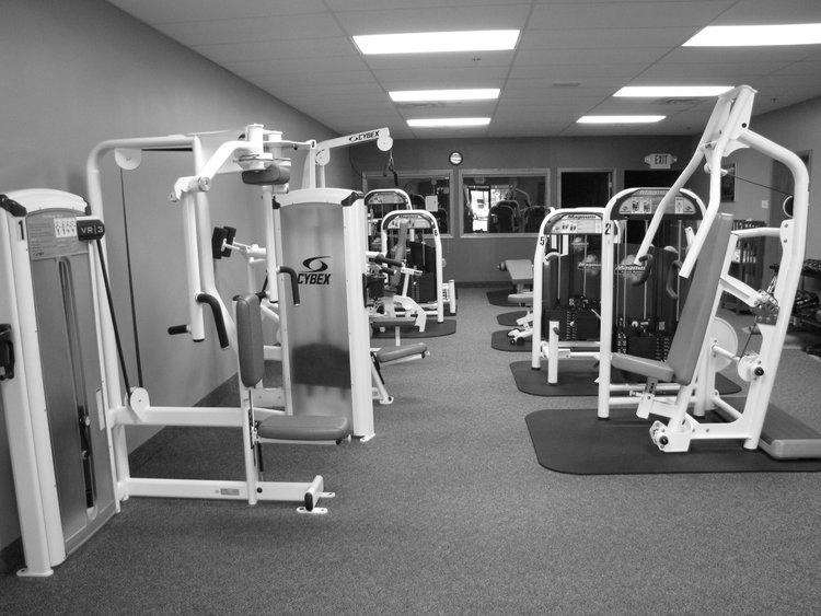 Weight Machine Exercises.