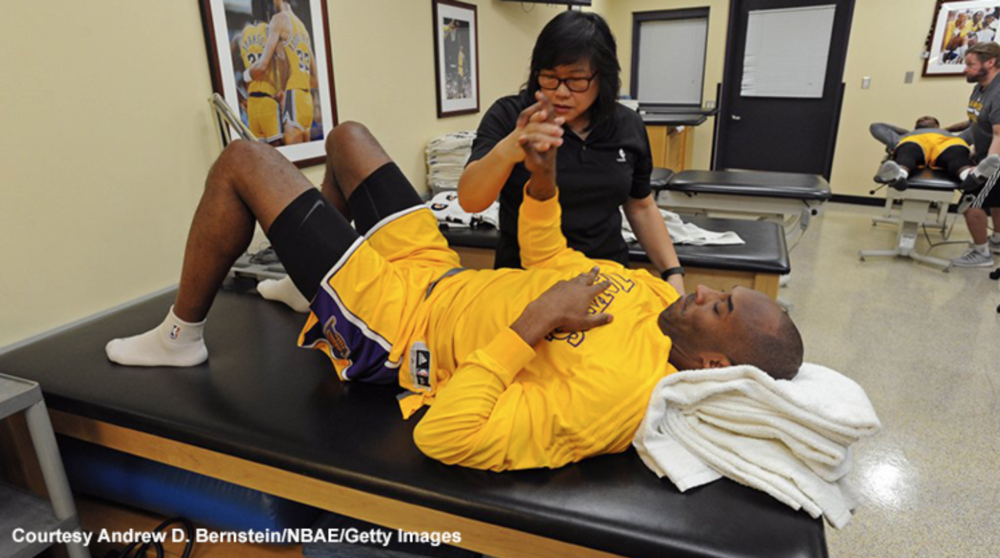Physical Therapy for sports athletes.