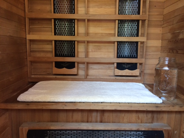 High Intensity training and Infrared Sauna