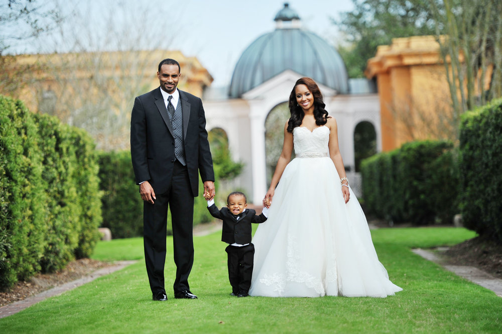 Gorgeous black brides Weddings by lulu New Orleans