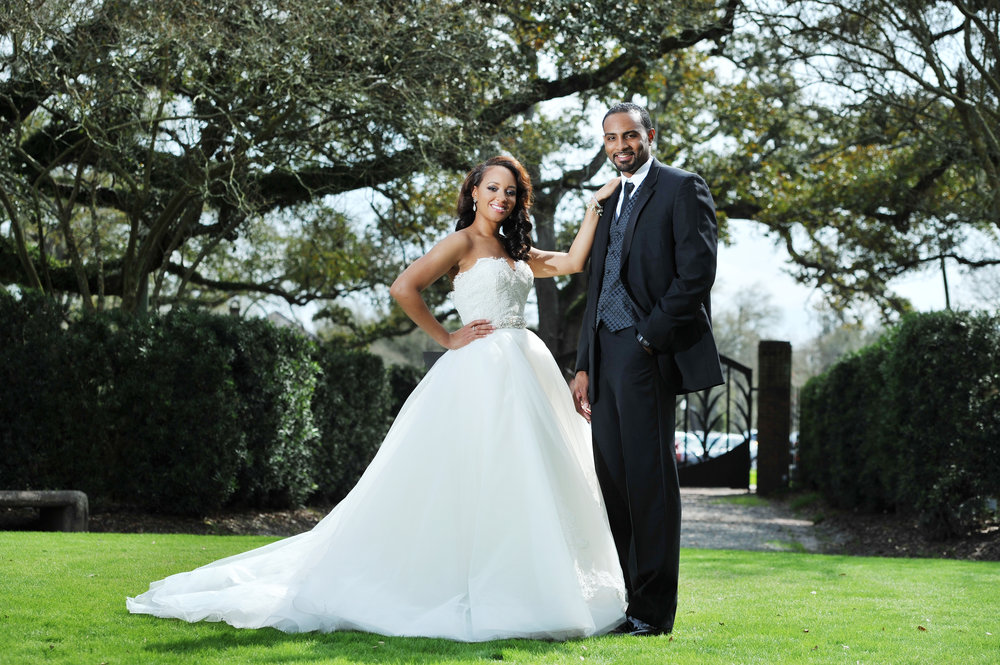 Gorgeous black brides Weddings by lulu New Orleans 4