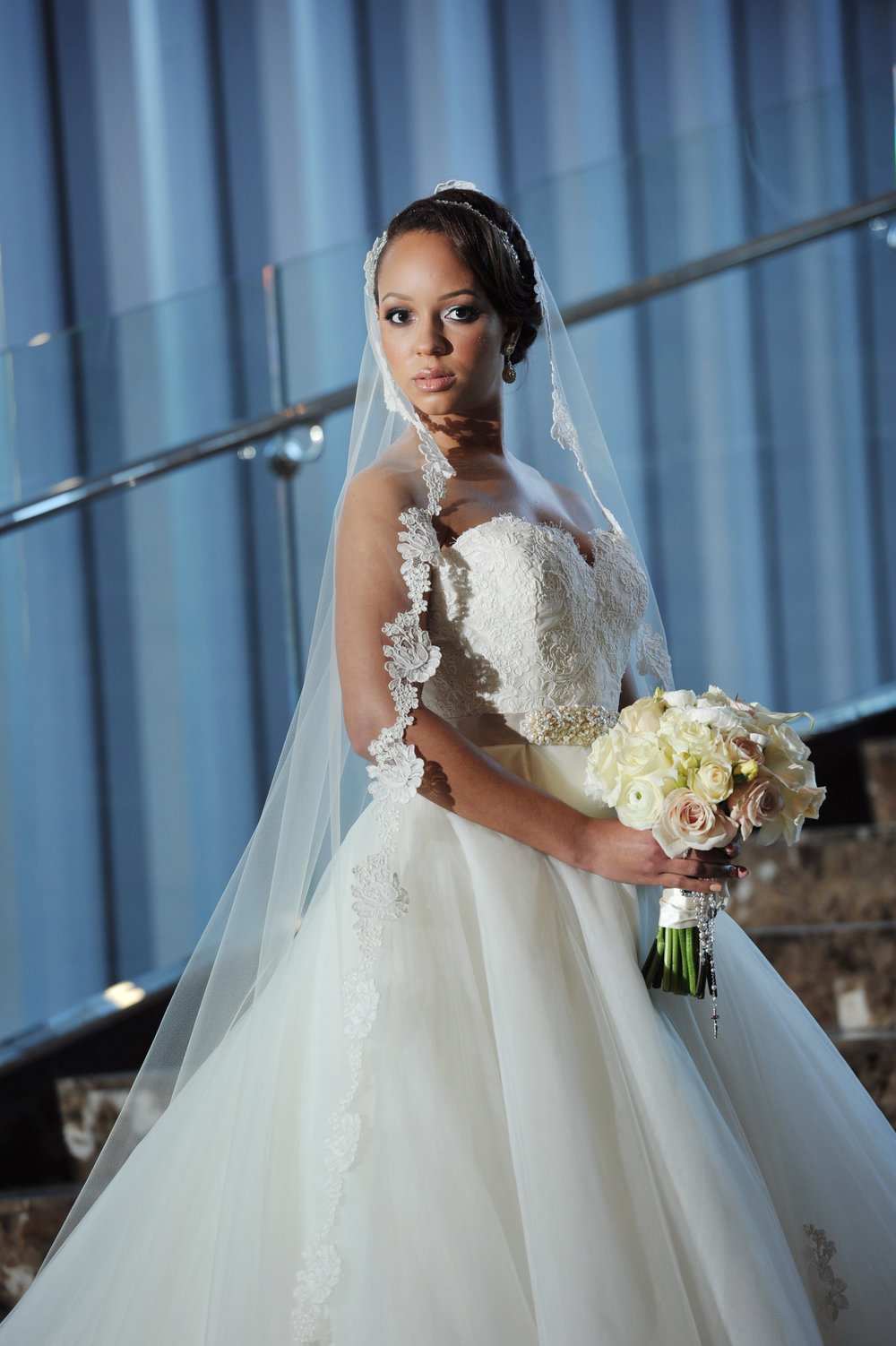 Gorgeous black brides Weddings by lulu New Orleans 14