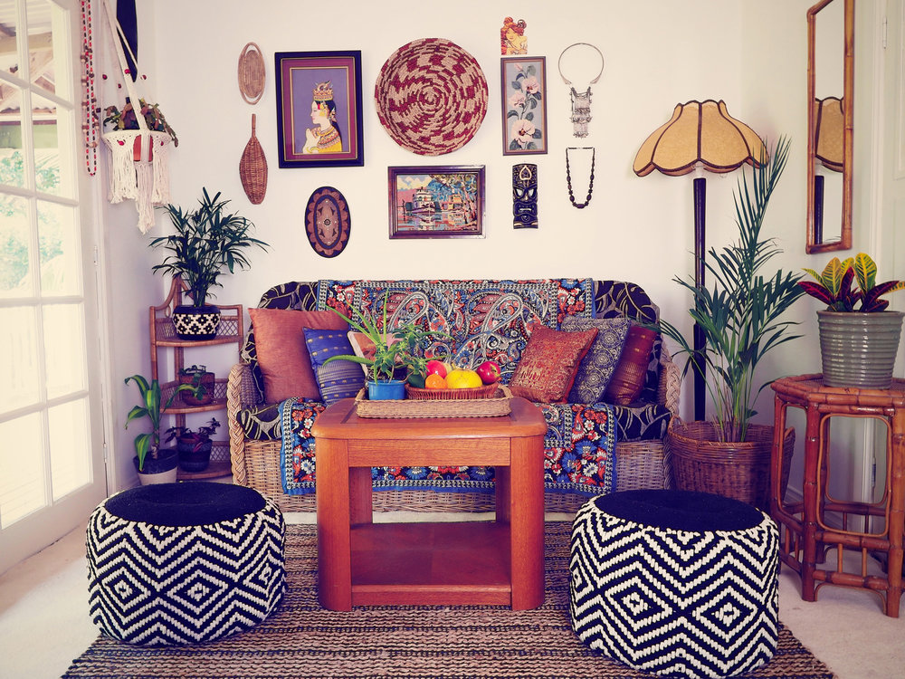Eclectic home styling