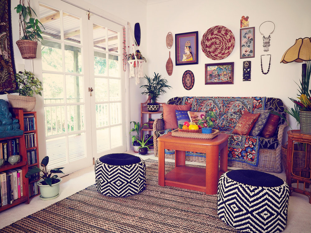 My eclectic style home
