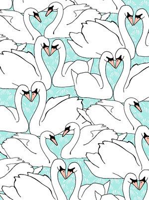 swans-pattern