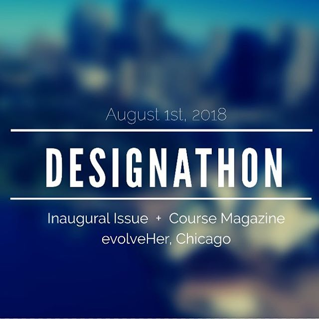👀👀 Calling all Designers 👀👀 We are getting 5-10 designers/design firms together on August 1st @evolveher to put together the Inaugural Issue of Course Magazine @course_magazine  _._._._._._._._._._  If you are interested, head over to the FB link to register as a participant! Each Brand will sponsor a section of the magazine they design. For their generous time and energy, they will have a Spread Advertisement for their Brand before their designer section. I will be pre-releasing the issue at a fundraiser for an amazing Documentary: Head to Head @headtoheaddoc on August 23rd and begin pitching to investors on September 1st, 2018. _._._._._._._._._  #graphicdesign #graphicdesigner #chicago #chicagoart #thefutureisfeminine #insta_chicago #thisismycommunity #communityovercompetition #chicago #community #wakeup #buildingcommunity #chicagogram #pursuepretty #flashesofdelight #thatsdarling #livingcolorfully #thehappynow #darlingmovement #ladypreneur #womanentrepreneur  #girlboss #creativelyfound #creativelifehappylife #mindset #hustle #global_ladies